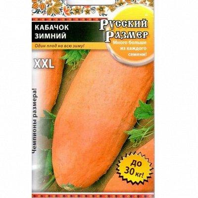 Семена плодово-ягодных кустарников и других растений — Русский размер. Овощи — Семена овощей