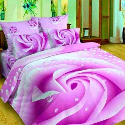 💫Любимый текстиль! Суперкачество! Новые яркие расцветки!💫 — Сатин 3D — Двуспальные и евро комплекты