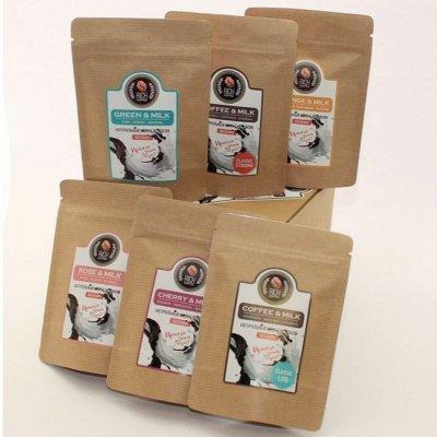 Настоящий свежий кофе «Рич Кофе» — Набор 6 вкусов. КОФЕ + сливки, 2в1. Просто залить кипятком! — Кофе и кофейные напитки
