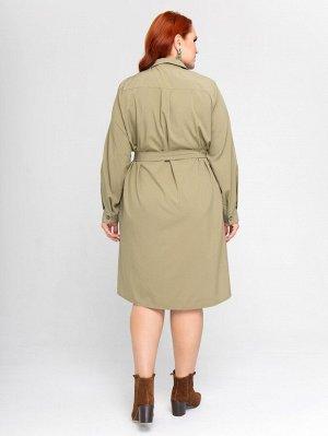 Платье 132-хаки