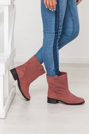 Замшевые ботинки Impressa цвета кения