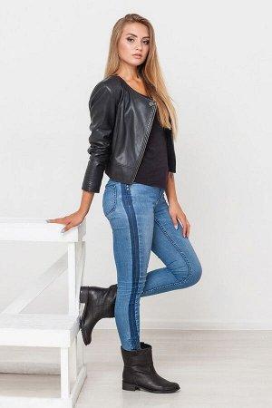 Черные кожаные ботинки Impressa