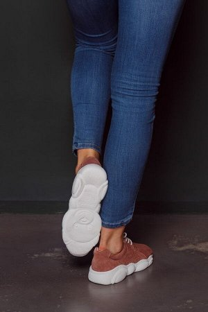Замшевые кроссовки TED DREAM цвета кения