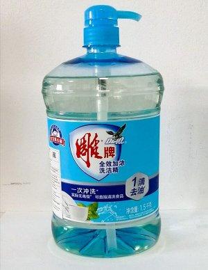 Средство для мытья посуды DIAO с ароматом лимона 1,5л