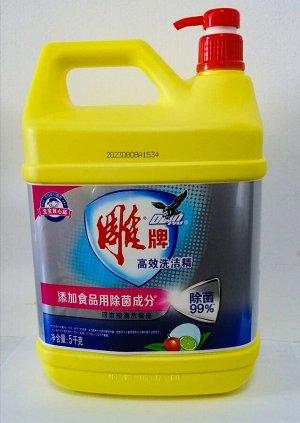 Средство для мытья посуды DIAO с ароматом лимона 5л