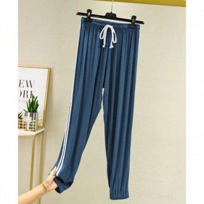Самая уютная закупка! Тёплая одежда. Низкая цена на всё! — Штаны в спортивном стиле - красивые и удобные — Широкие брюки