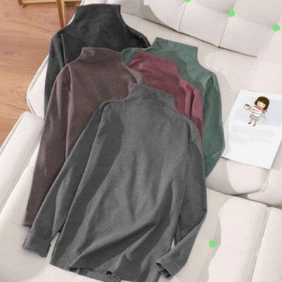 Самая уютная закупка! Тёплая одежда. Низкая цена на всё! — Водолазки по супер-цене! 290 руб. — Водолазки