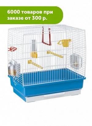 Клетка для птиц REKORD 2 (белая) 39*25*41см