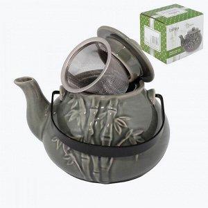 Чайник заварочный керамический 950 мл LaDina
