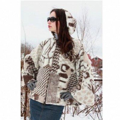 Magic Wool  Изделия из натуральной шерсти — Шерстяные пончо, жакеты, пальто — Верхняя одежда