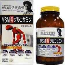 «Ногучи Якухин» -MSM + глюкозамин+ хондроитин+ коллаген