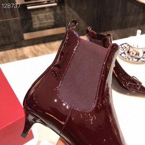 Ботинки Нат.кожа Каблук 4см
