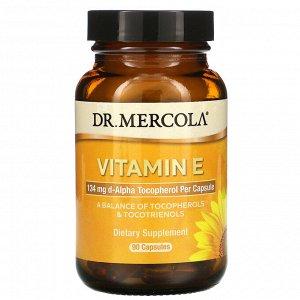 Dr. Mercola, Vitamin E, 90 Capsules