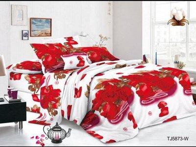 ECOLAN — домашний текстиль, яркие принты! Наматрасники — Постельное белье (полисатин) - 1.5сп — Полутороспальные комплекты