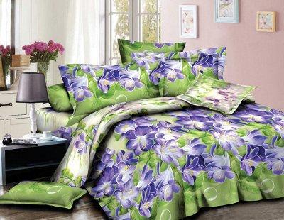 ECOLAN — домашний текстиль, яркие принты! Наматрасники — Постельное белье (полисатин) - 2сп люкс — Двуспальные и евро комплекты