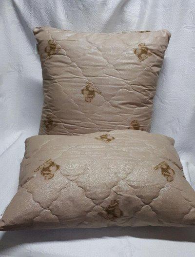 ECOLAN — домашний текстиль, яркие принты! Наматрасники — Подушки овечья шерсть — Подушки
