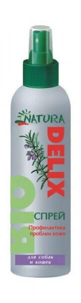 Natura Delix Bio профилактика проблем кожи для собак и щенков 150мл спрей
