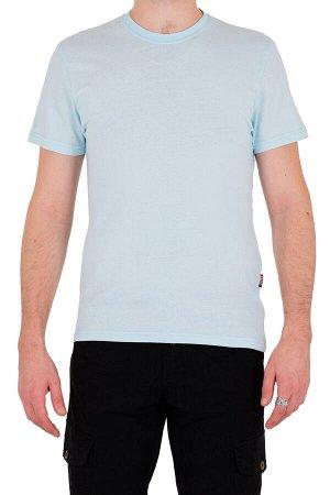 Футболка Код товара: 49461 Бренд: SAMO Модель: круглый вырез Фактура: однотонная Комплектация: футболка ЦВЕТ: голубой СОСТАВ: хлопок-100%