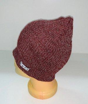 Шапка Привлекательная вязаная шапка  №1546