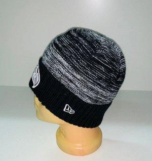 Шапка Бело-черная шапка с орлом  №1880