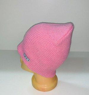Шапка Милая розовая шапка  №1690