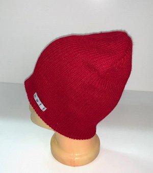 Шапка Красная зачетная шапка  №1706