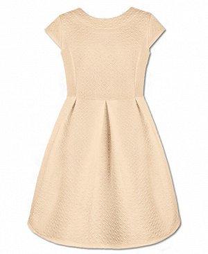 Молочное платье для девочки Цвет: молочный