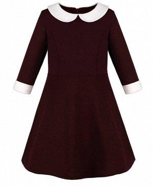 84304-ДШ20 Платье р-р.128-158 Цвет: бордовый