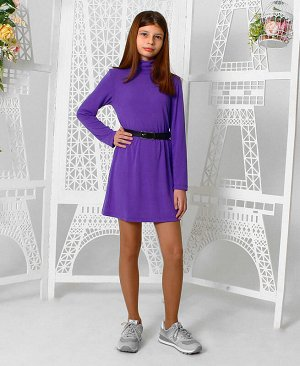 Фиолетовое платье для девочки Цвет: фиолетовый