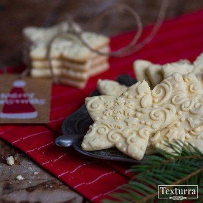 Милые пряничные скалки с объемным узором! — Новый год и Рождество — Для запекания и выпечки