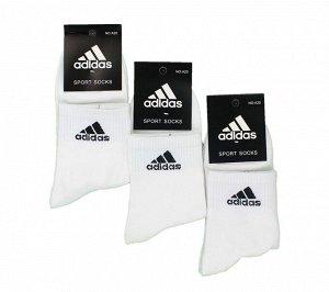 Мужские носки A A20 белые хлопок арт.108