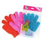 Мочалка-перчатка с эффектом пилинга