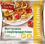 Феттучини с морепродуктами 400г (ВИТ)