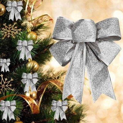 🎄Волшебство! Елочки! *★* Новый год Спешит! ❤ 🎅 — Набор новогодних бантиков 3шт =45 рублей! — Все для Нового года