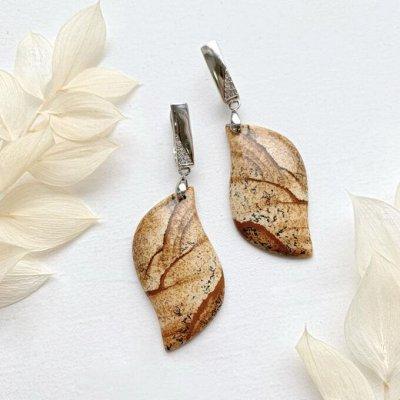 Самоцветы - браслеты из натуральных камней — Натуральный камень — Серьги