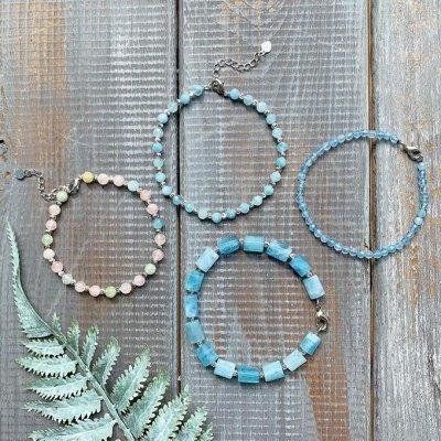 Самоцветы - браслеты из натуральных камней — Авторские — Браслеты