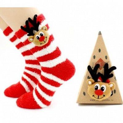 Детям теплые носки, перчатки, лосины ❄  — Новогодние детские  — Носки и гольфы
