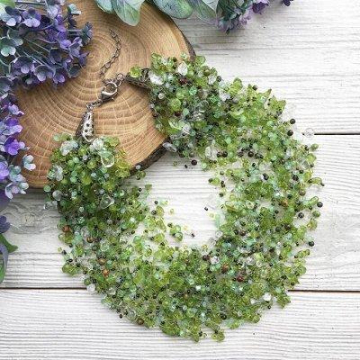 Самоцветы - браслеты из натуральных камней — Авторские — Колье и бусы