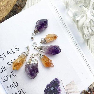 Самоцветы - браслеты из натуральных камней — Кулоны — Цепочки и подвески