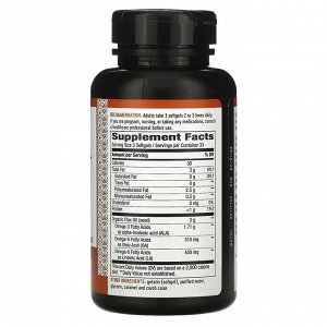 Nature&#x27 - s Way, Flax Oil, 3,000 mg, 100 Softgels