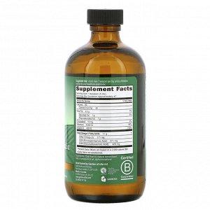 Garden of Life, Olde World Icelandic Cod Liver Oil, со вкусом лимона и мяты, 8 жидких унций (236 мл)