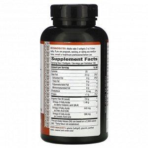 Nature&#x27 - s Way, Flax Oil, Max Strength, 2,600 mg, 200 Softgels