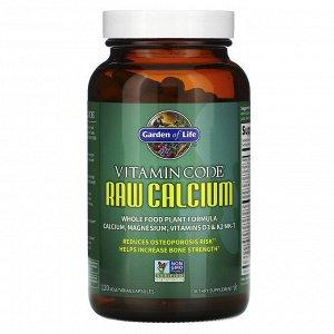 Garden of Life, Vitamin Code, кальций RAW, 120 вегетарианских капсул