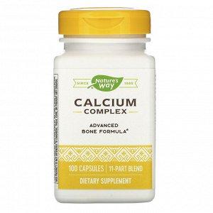 Nature&#x27 - s Way, Calcium Complex, 100 Capsules
