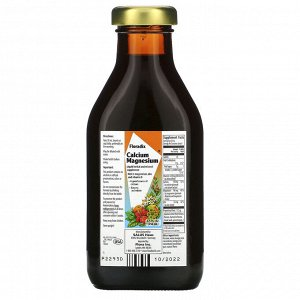 Flora, Salus-Haus, Floradix, кальций и магний с цинком и витамином D, 8.5 жидких унций (250 мл)
