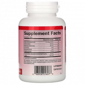 Natural Factors, Calcium & Magnesium, Citrate with D3, 90 Tablets