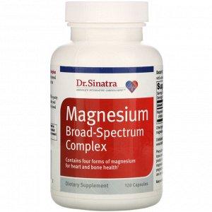 Dr. Sinatra, Magnesium Broad-Spectrum Complex, 120 Capsules