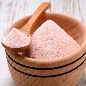 Соль розовая, гималайская мелкий помол, (Salt pink Himalayan fine) крафт дойпак 100 г
