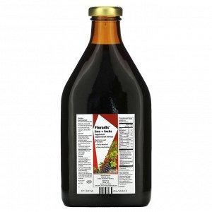 Flora, Floradix, добавка с железом и травами, формула с жидким экстрактом, 700 мл (23 жидких унции)