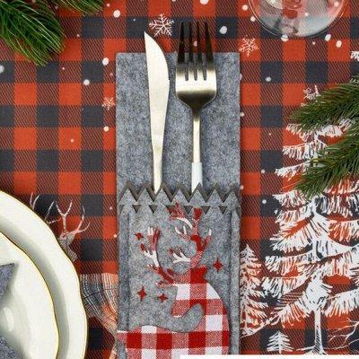 Новогодний текстиль для дома - Идеи для подарка. — Салфетки — Салфетки для сервировки